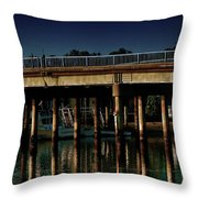 Appian Way Bridge Throw Pillow
