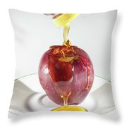 Apple And Honey Throw Pillow