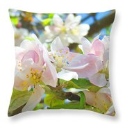 Apple Blossoms Art Prints Spring Trees Baslee Troutman Throw Pillow