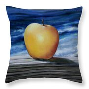 Apple By The Sea Throw Pillow