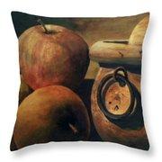 Apple Cider Throw Pillow