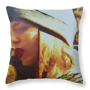 Apple Juice Throw Pillow