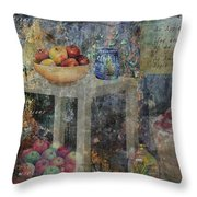 Apple Montage Throw Pillow
