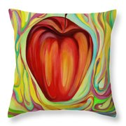 Apple One Throw Pillow