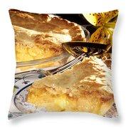 Apple Pie Dessert Throw Pillow