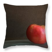 Apple Portrait Throw Pillow
