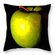 Apple Shades Throw Pillow