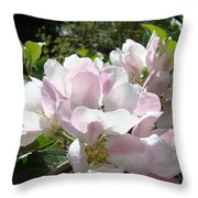 Apple Tree Blossoms Art Prints Baslee Troutman Throw Pillow