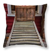 Apple Unloading Time Throw Pillow