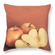 Apples In Autumn Throw Pillow