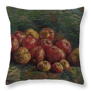 Apples Paris, September - October 1887 Vincent Van Gogh 1853 - 1890 Throw Pillow