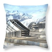 Applied Science Academy Throw Pillow