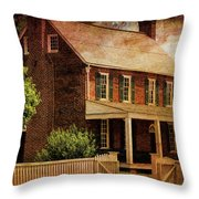 Appomattox Court House By Liane Wright Throw Pillow