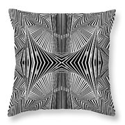 Apprehensions Throw Pillow