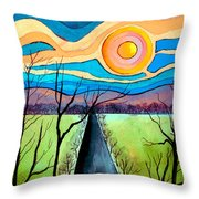 Approaching Lossarnach Throw Pillow