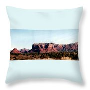 Approaching Sedona Throw Pillow