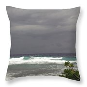 Approaching Storm 6 Throw Pillow