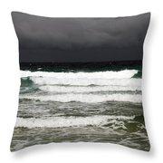 Approaching Storm 8 Throw Pillow