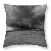 Approaching Storm Throw Pillow