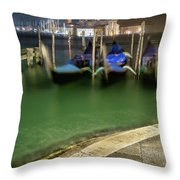Approdo Per La Strada Throw Pillow