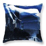 Apres Moi Le Deluge Throw Pillow