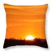 April 15-2016 Sunset  Throw Pillow
