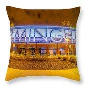April 2015 - Birmingham Alabama Regions Field Minor League Baseb Throw Pillow