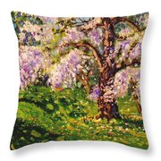 April Dream Throw Pillow
