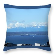 April Sail Throw Pillow
