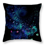 April Showers May Flowers Throw Pillow