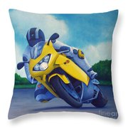 Aprilla - Tuesday Afternoon Throw Pillow