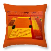 Aproaching Storm - Sold Throw Pillow