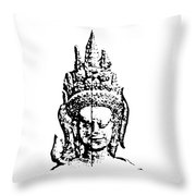 Apsara 1 Throw Pillow