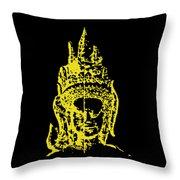 Apsara 2 Throw Pillow