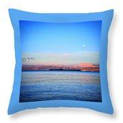 Aqaba  Throw Pillow