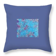 Aqua Magic Throw Pillow