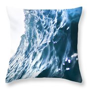 Aqua Ramp - Triptych Part 3 Of 3. Throw Pillow