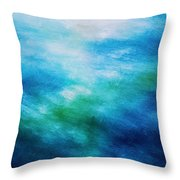 Aquatic Healing Overture  Throw Pillow