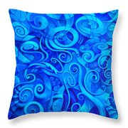 Aquea Throw Pillow