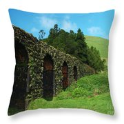 Aqueduct Throw Pillow
