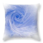 Aqueous Bloom 3 Throw Pillow
