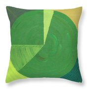Aquifer # 9  Throw Pillow