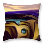 Aquifer  Throw Pillow