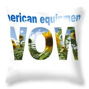 Artwork For Lawnmower Company Throw Pillow