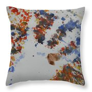 Arab Spring Two Throw Pillow