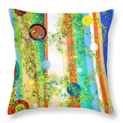 Arabesque  Throw Pillow