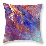 Australian Desert From Space Throw Pillow