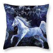Arabian Night Throw Pillow