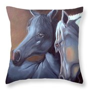 Arabique Throw Pillow
