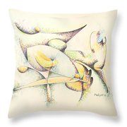 Arachne Throw Pillow